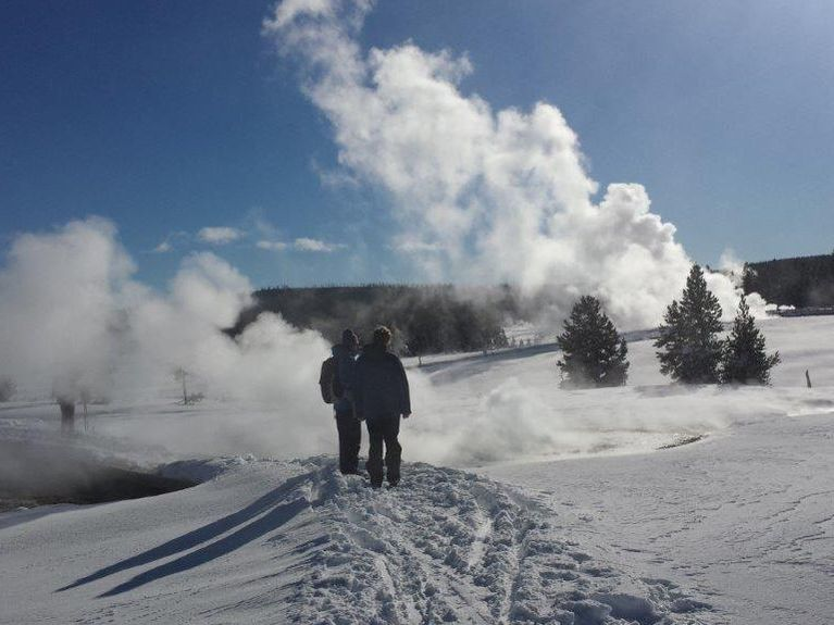 Guided Yellowstone Ski Tours