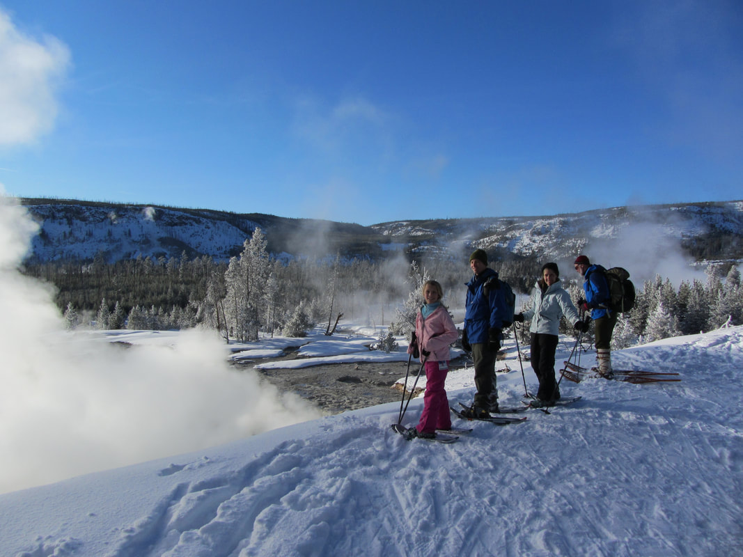 Yellowstone Winter Family Tours